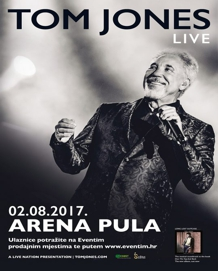 Arena Pula - Tom Jones - 02.08.