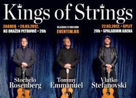 Kings of Strings stižu u Zagreb i Split