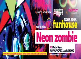 Aquarius - Funhouse: Neon Zombie - 18.05.