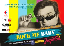 Galija - Rock Me Baby party - 10.05.