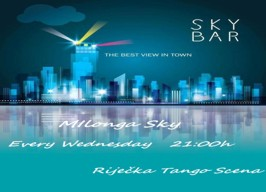 Sky bar - Milonga Sky - 08.05.