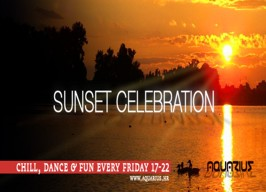 Aquarius - Sunset celebration - 10.05.