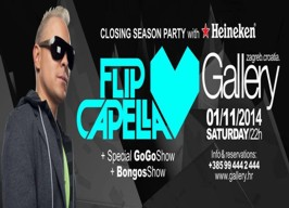 Gallery Club Zagreb - Closing season party - 01.11.