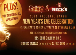 Gallery Club Zagreb - New Year's Eve - 31.12.