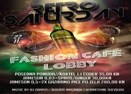 Fashion café Lobby - Retro Saturday - 22.11.