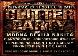 Fashion café Lobby - Glitter party - 27.11.