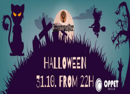 Oppet bar - Jägermeister Halloween party - 31.10.
