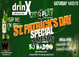 DrinX Club Zagreb - St. Patrick's Day - 14.03.