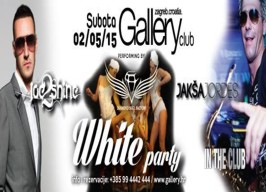 Gallery Club Zagreb - White party - 02.05.