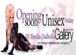 Gallery Club Zagreb - Unisex Friday - 20.03.