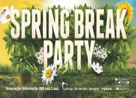 Gallery Club Zagreb - Spring Break Party - 27.03.