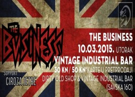 Vintage Industrial Bar - The Business - 10.03.