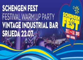 Vintage Industrial Bar - Schengenfest Warm Up - 22.07.