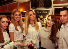 Karolina - Beck's party - 13.06.