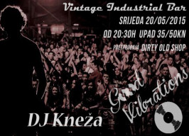 Vintage Industrial Bar - KBO! - 20.05.