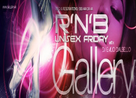Gallery Club Zagreb - R'N'B Unisex Friday - 25.09.