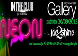 Gallery Club Zagreb - NEON party - 26.09.
