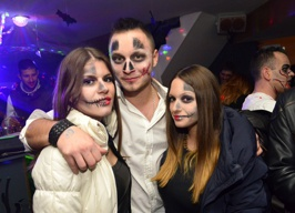 Caffe & Night bar 'Gold' - Halloween party - 31.10.