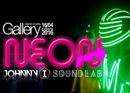 Gallery Club Zagreb - Neon party - 16.04.
