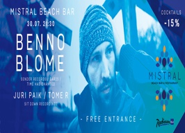 Mistral beach bar Split - Benno Blome - 30.07.