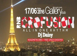 Gallery Club Zagreb - R'n'B CROfusion - 17.06.