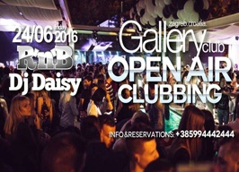 Gallery Club Zagreb -  R'n'B with Dj Daisy - 24.06.