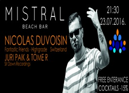 Mistral beach bar Split - Nicolas Duvoisin - 23.07.