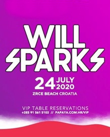 Papaya Club Zrće - Will Sparks - 24.07.